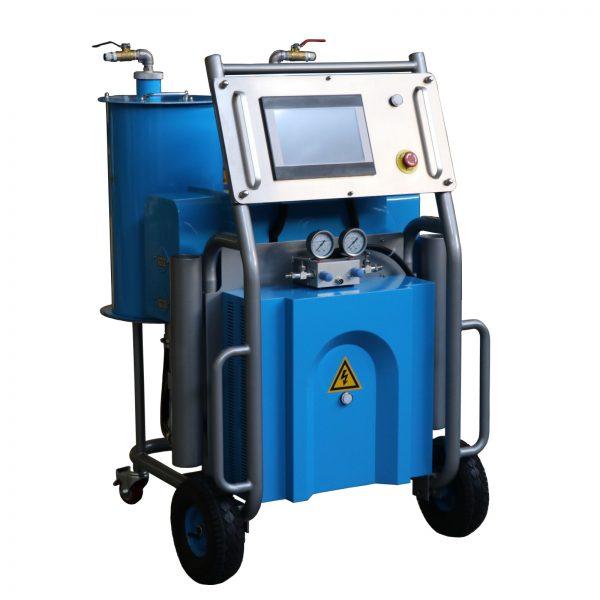 elektromos purhabszórógép