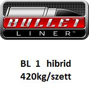 BULLET LINER BL1 a legkedveltebb hibrid poliurea rendszer 420kg/szett