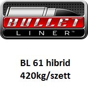 BULLET LINER BL61 általános felhasználású hibrid poliurea rendszer 420kg/szett