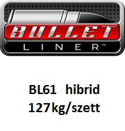 BULLET LINER BL61 általános felhasználású hibrid poliurea rendszer 127kg/szett